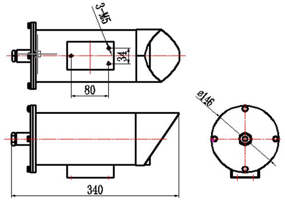 采用syv75-5视频同轴电缆,不加补偿器可传输1km.